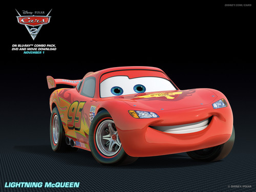 Disney Pixar Cars 2 wallpaper entitled Lightning McQueen