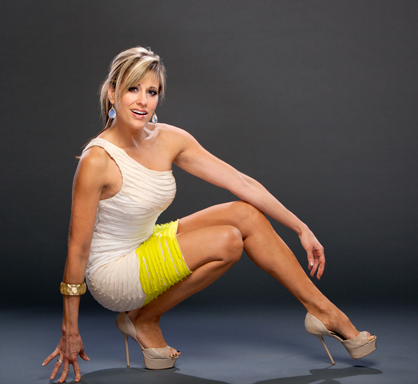 Lilian Garcia 바탕화면 probably with a leotard entitled Lilian Garcia