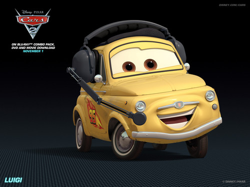 Disney Pixar Cars 2 wallpaper entitled Luigi