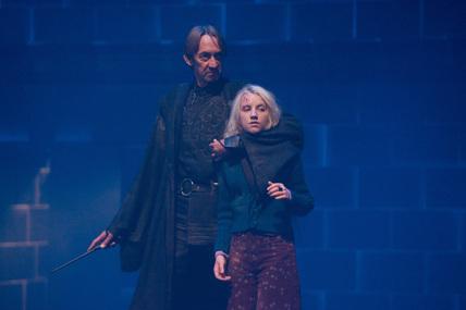 Luna Lovegood and Walden Macnair
