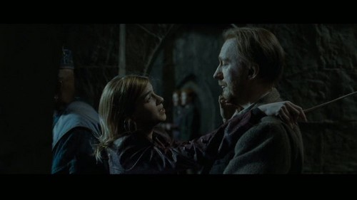 """Remus Lupin Hintergrund probably containing a portrait titled Lupin in Deathly Hallows pt 2 - Deleted Scene - """"Hogwarts Battlements"""""""