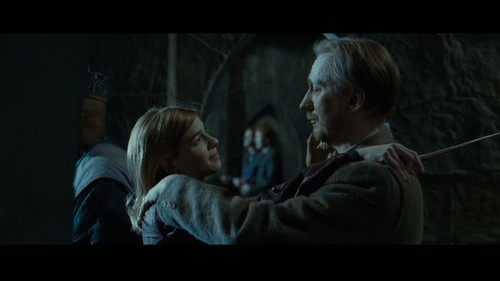 """Remus Lupin Hintergrund entitled Lupin in Deathly Hallows pt 2 - Deleted Scene - """"Hogwarts Battlements"""""""