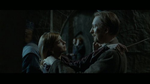"""Remus Lupin Hintergrund titled Lupin in Deathly Hallows pt 2 - Deleted Scene - """"Hogwarts Battlements"""""""