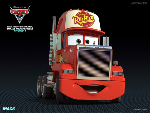 Disney Pixar Cars 2 wallpaper entitled Mack