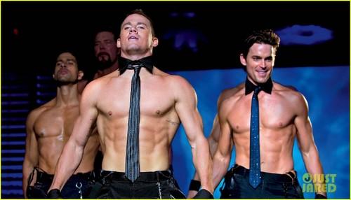 Matt Bomer & Channing Tatum: Shirtless 'Magic Mike' Still!
