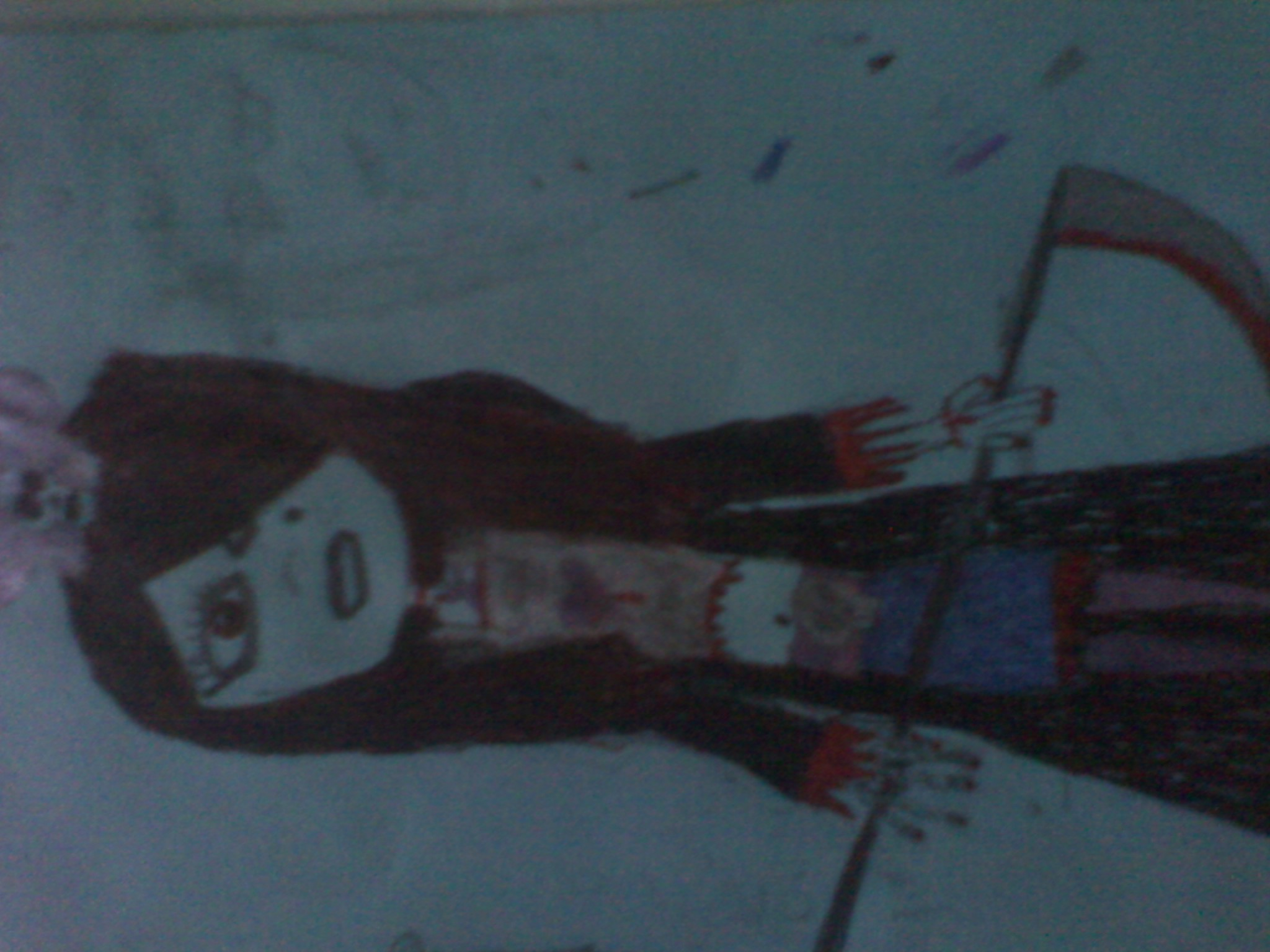 Meet my character Grimmie Reaper, daughter of the grim reaper