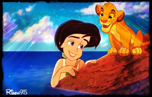 Melody and Simba
