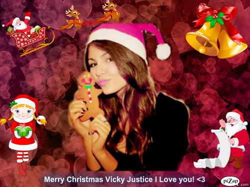 Merry giáng sinh Vicky!