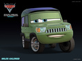 Miles Axlerod - disney-pixar-cars-2 wallpaper