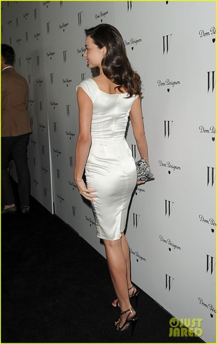 Miranda Kerr: 'W' Mag Pre-Golden Globes Party!