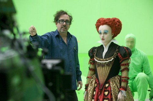 More behind of the scenes - alice-in-wonderland-2010 Photo