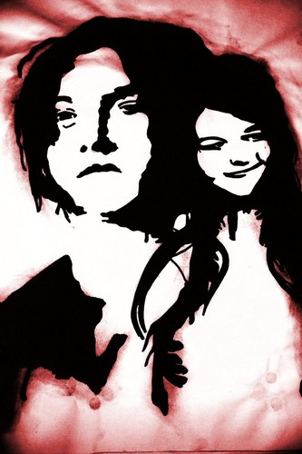 My White Stripes Drawing