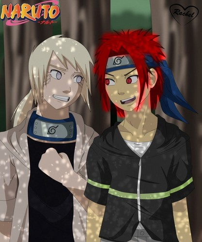 Naruto Akira with his Best Friend Riley Hyuga!