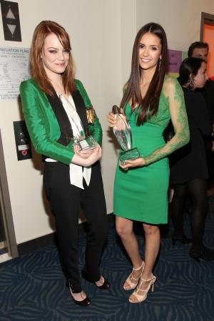 Nina Dobrev At People's Choice Awards 2012