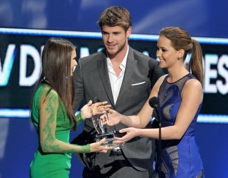 Nina Dobrev People's Choice Award 2012