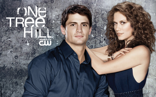 One Tree Hill wallpaper probably with a street and a portrait entitled ONE TREE HILL SEASON 7