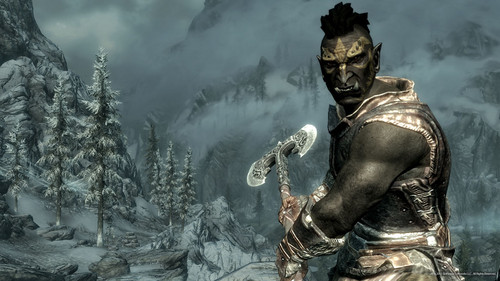 skyrim orc wallpaper - photo #8