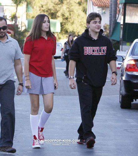 Paris Jackson and Prince Jackson 2012 januray MQ