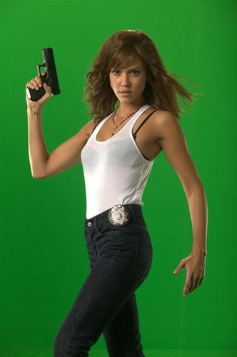 Machete wallpaper called Production Photos - Jessica Alba