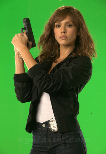 Production 照片 - Jessica Alba