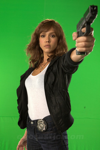 Production foto's - Jessica Alba
