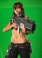 Production Photos - Michelle Rodriguez - machete photo