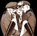 Prussia x Italy x Germany threesome - hetalia-couples photo