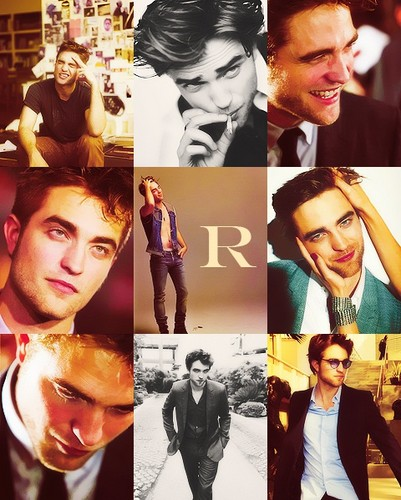 R stands for Robert Thomas Pattinson<3