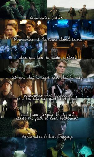 RIP Cedric Diggory