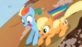 my-little-pony-friendship-is-magic - Rainbow Dash and Applejack screencap