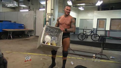 Randy Orton wallpaper called Randy Orton RKO Wade Barrett On A Car