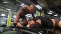 Randy Orton RKO Wade Barrett On A Car - randy-orton screencap