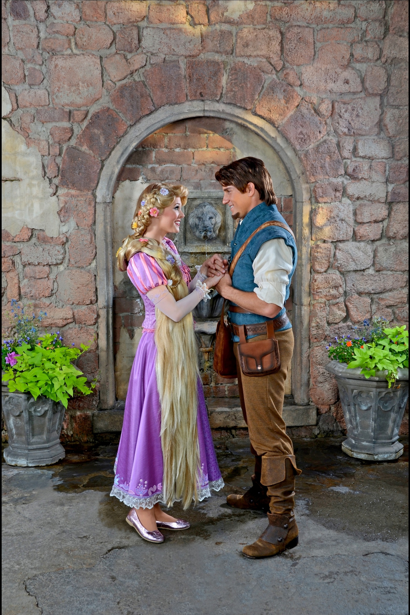 Disney Character Greetings Images Rapunzel Flynn Rider Hd