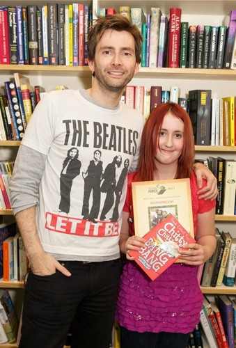 Reading Forces campaign - david-tennant Photo