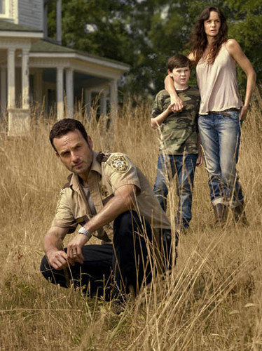 Rick,Carl and Lori