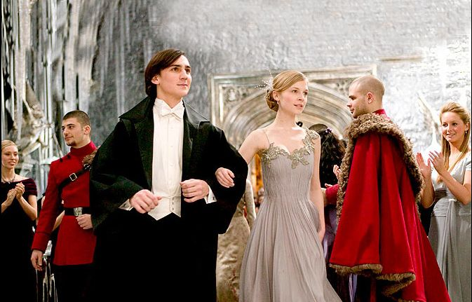 Harry potter and the goblet of fire hermione yule ball
