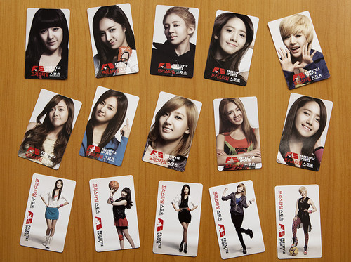 SNSD @ FreeStyle Sports Photocard - Special Gifts - HD