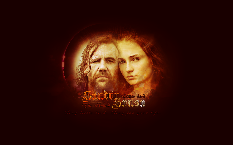 Sandor Clegane & Sansa Stark - Sandor and Sansa Wallpaper ...