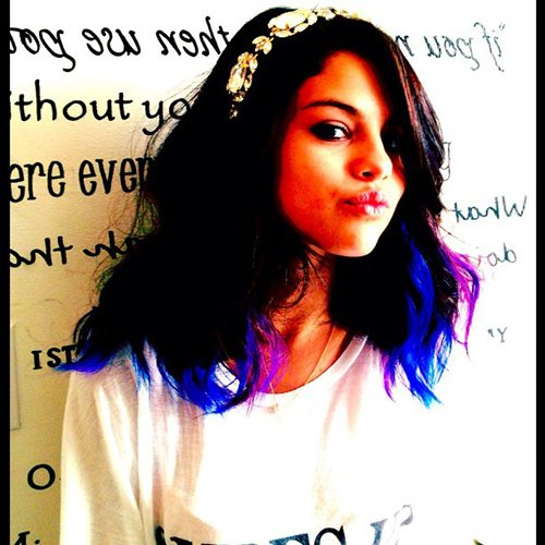 Selly with new hair