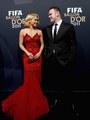 """Shakira & Wayne Rooney - """"FIFA Ballon d'Or 2011"""" - (January 9, 2012) - shakira photo"""