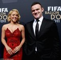 "Shakira & Wayne Rooney - ""FIFA Ballon d'Or 2011"" - (January 9, 2012) - shakira photo"