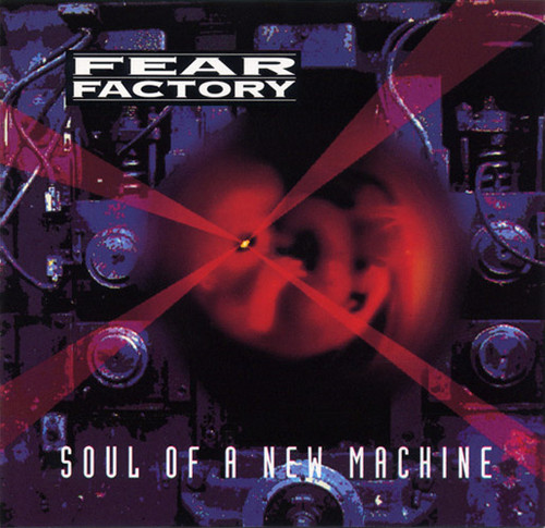 Fear Factory achtergrond titled Soul Of A New Machine
