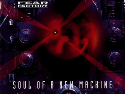 Fear Factory fond d'écran titled Soul Of A New Machine