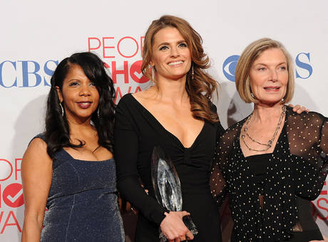 Stana, Penny & Susan at the People Choice Awards