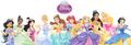 Ten Official Disney Princesses Line Up