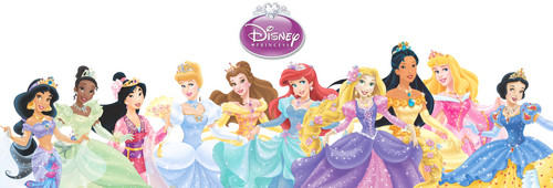 Ten Official Дисней Princesses Line Up
