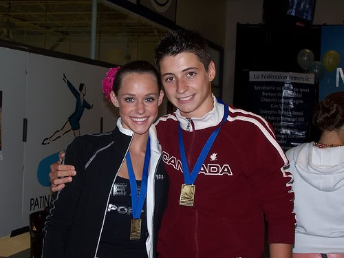 Tessa Virtue & Scott Moir wallpaper probably with an outerwear and a well dressed person called Tessa and Scott