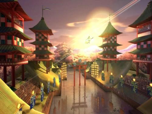 The Japanese Quidditch Stadium