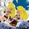 The Kagamine Twins