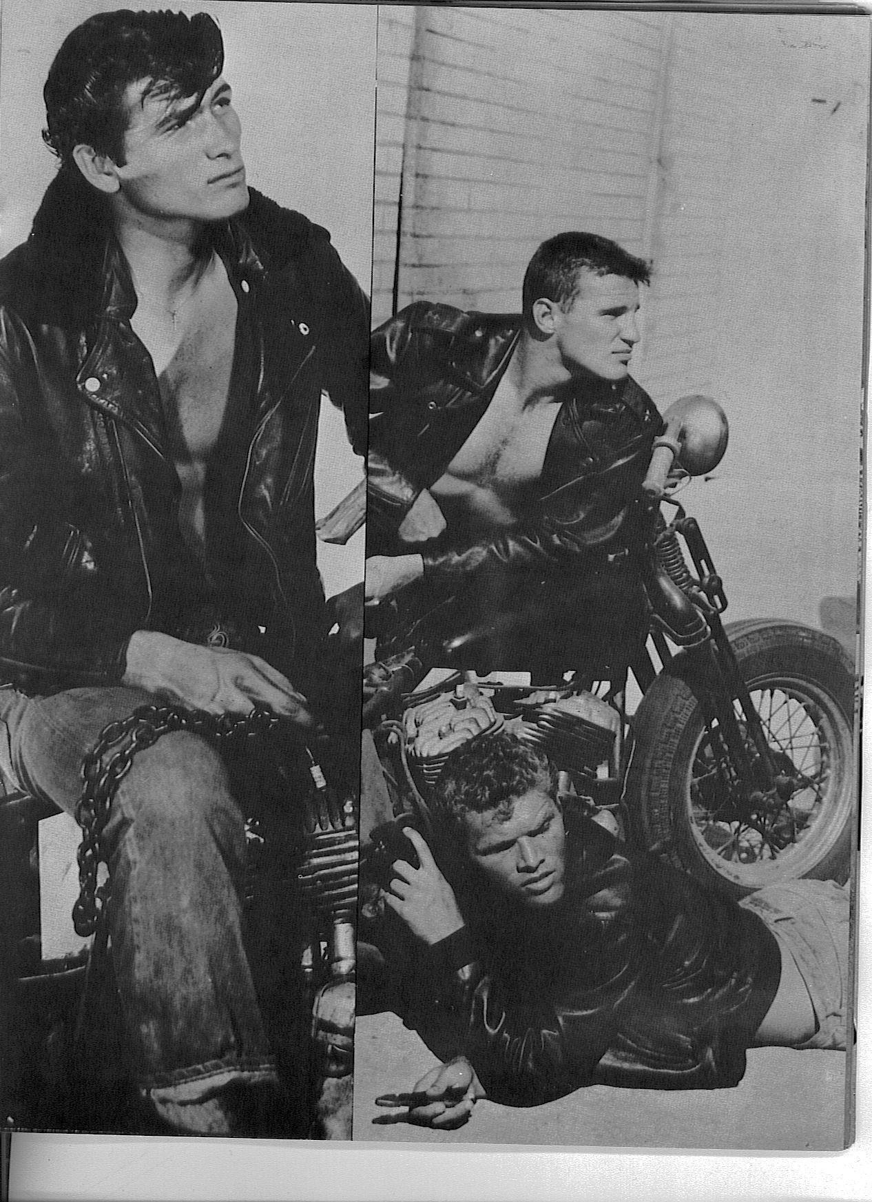 Vintage Beefcake Bikers